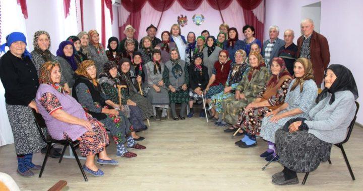 В Чишмикиое прошло мероприятие, посвященное Дню пожилых людей