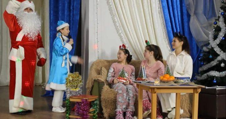 Новогодний концерт в селе Чишмикиой