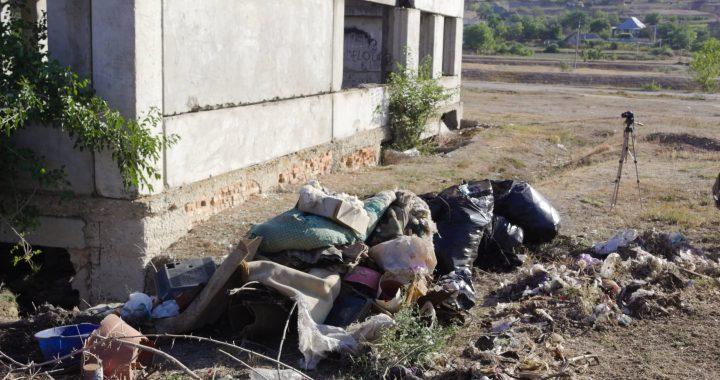 ВИДЕО.Как проходила ликвидация мусорной свалки по ул. Космонавтов