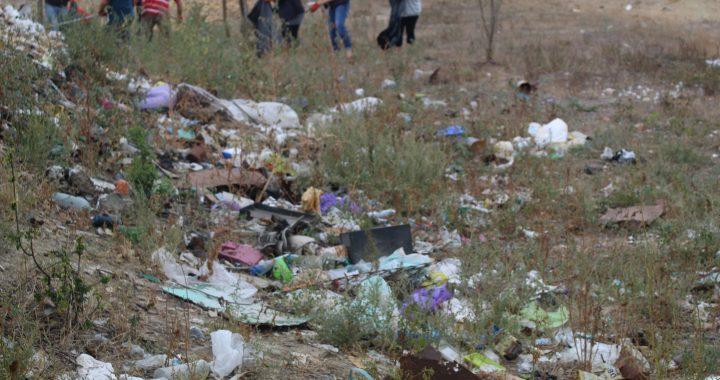 ФОТО. Ликвидация мусоросвалки по улице Ленина