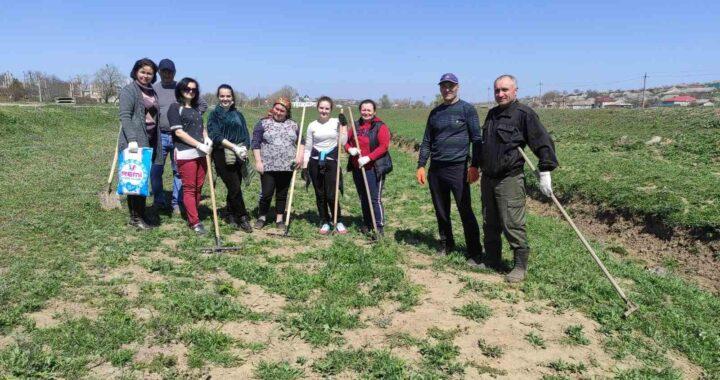 22 апреля в селе Чишмикиой был проведен субботник