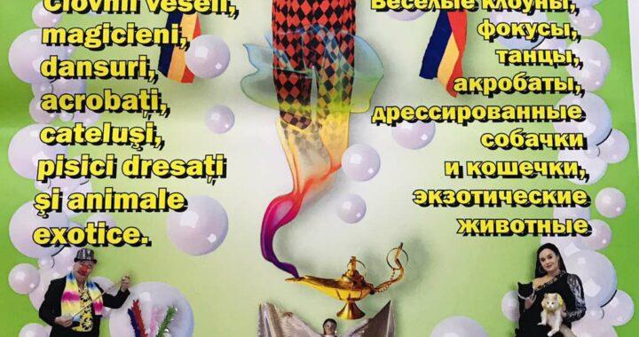 В субботу жителей села Чишмикиой ждет цирковое представление «ArleChin»