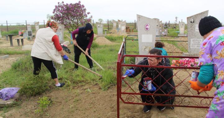 Видео. Фото. В селе Чишмикиой провели акцию памяти ветеранам Второй мировой войны